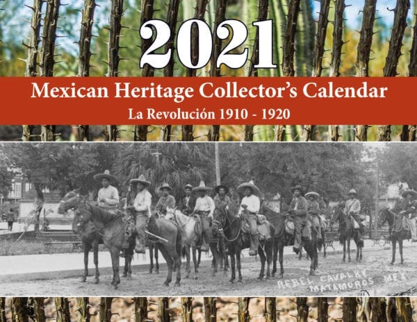 2021 Mexican Heritage Collectors Calendar cover
